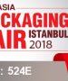 EURASIA Packaging Fair in Istanbul (Turkey) 31/10 - 3/11