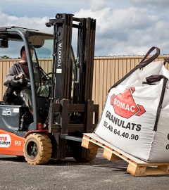 Stabilize your Big-Bag shipments, Secure your transports, Optimize your costs.