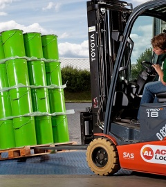 Stabilize your products packaged in plastic buckets, cans or jerrycans  Secure your transports.